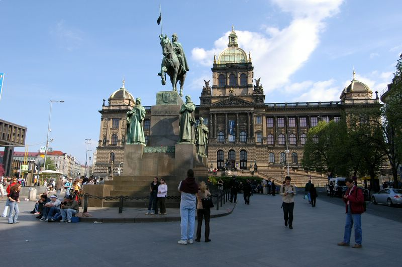 Equestrian statue of St. Wenceslas